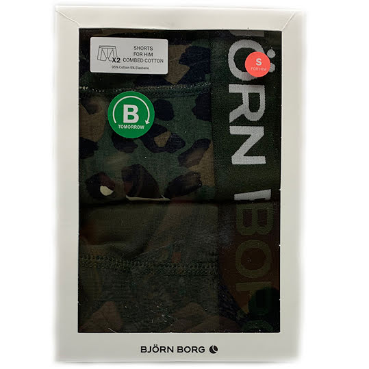 Björn borg Boxershorts Combed Cotton 2-Pack