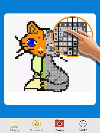 sandbox color by number - my pixel art 1.0 screenshots 1
