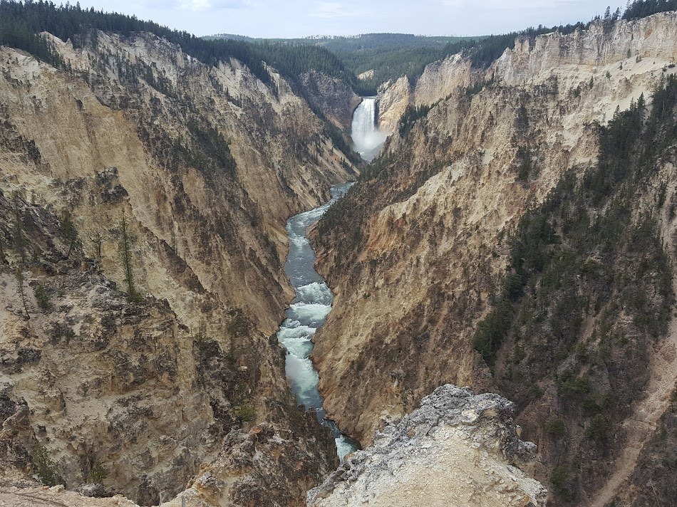 Artist Point Yellowstone, Grand Canyon Yellowstone