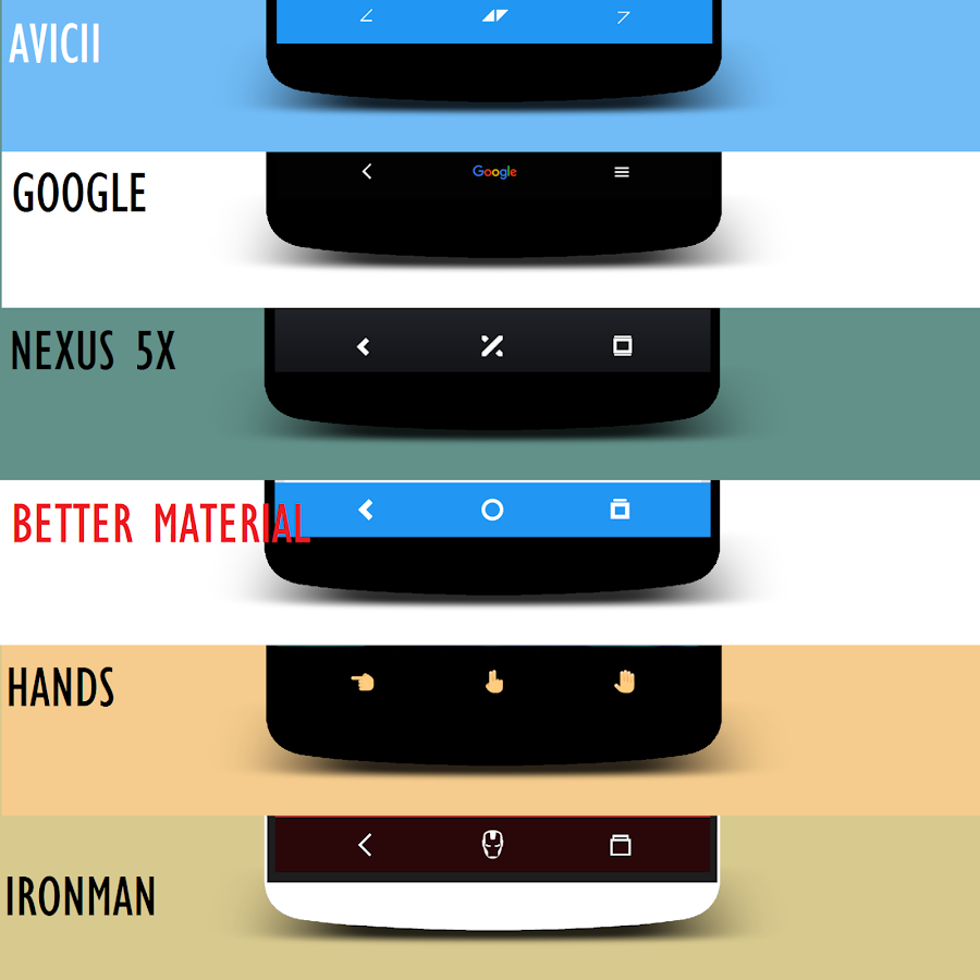 Google themes app -  Substratum Navigate Theme Screenshot