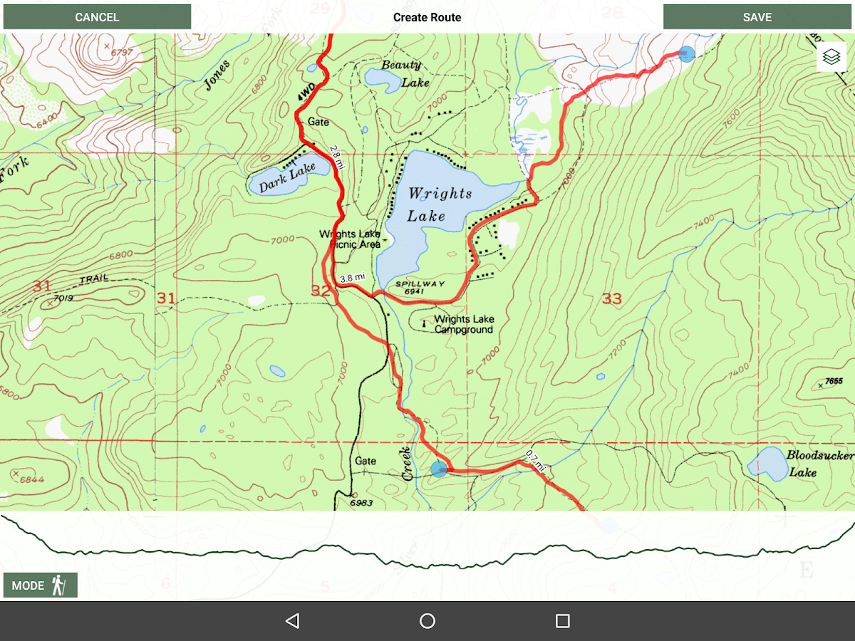 Gaia GPS: Hiking Maps, Topo Maps, Hike App- screenshot