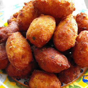 Codfish Fritters - Thermomix Recipe