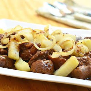 Pork Asado.
