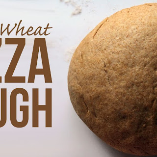 Whole Wheat Pizza Dough.