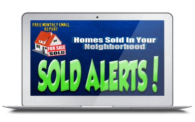 Homes Sold Alerts