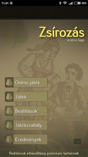 Zsirozas - Fat card game apkmr screenshots 1