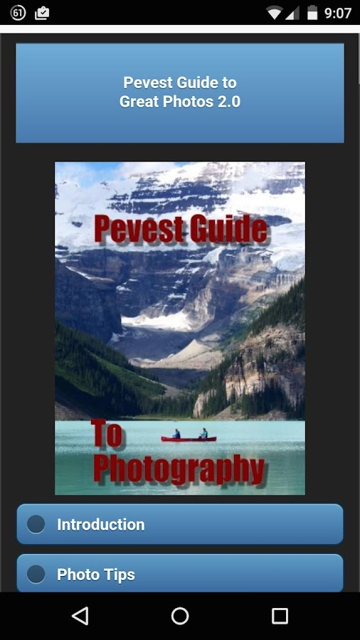 Photo Guide 2.0- screenshot