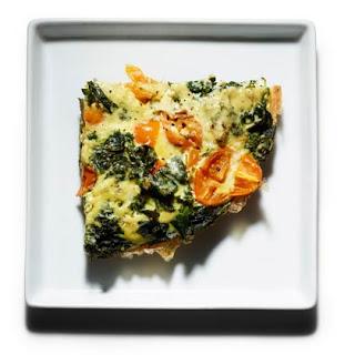 Braised Kale Frittata.