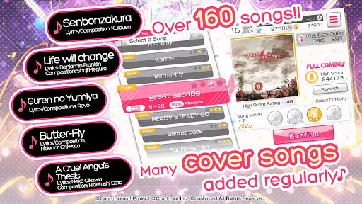 BanG Dream! Girls Band Party! Apk [Mod] - Auto Perfect