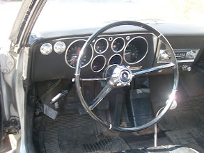 Photo: 1966 Corsa w/ factory telescoping steering column RPO N36 and the 4 speed manual transmission RPO M20. An AM Pushbutton radio is also present RPO U63