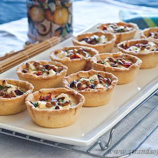 Feta & Sundried Tomato Tarts.