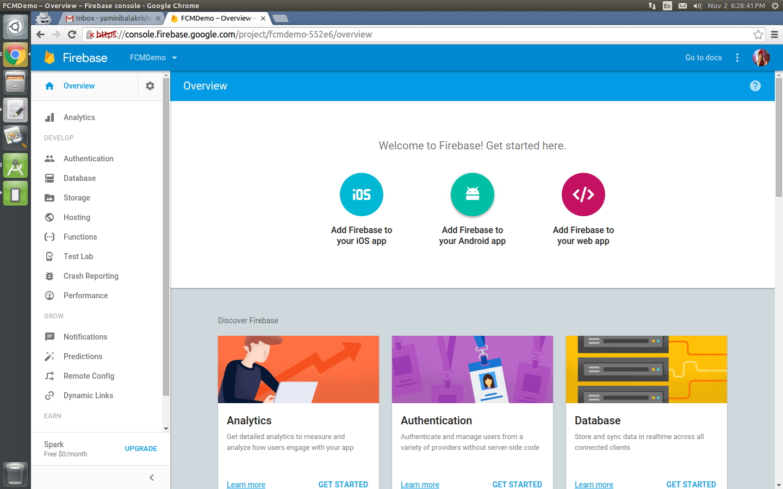 Firebase Storage - Upload Files - Kotlin