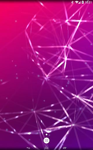 plexus-A vibrant 3D wallpaper