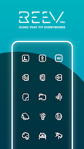Reev Pro - Icon Pack 2.2.2 (Patched)