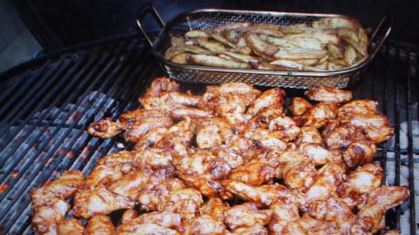 Grilled Chicken Wings By Eddie 4th Menu Recipe