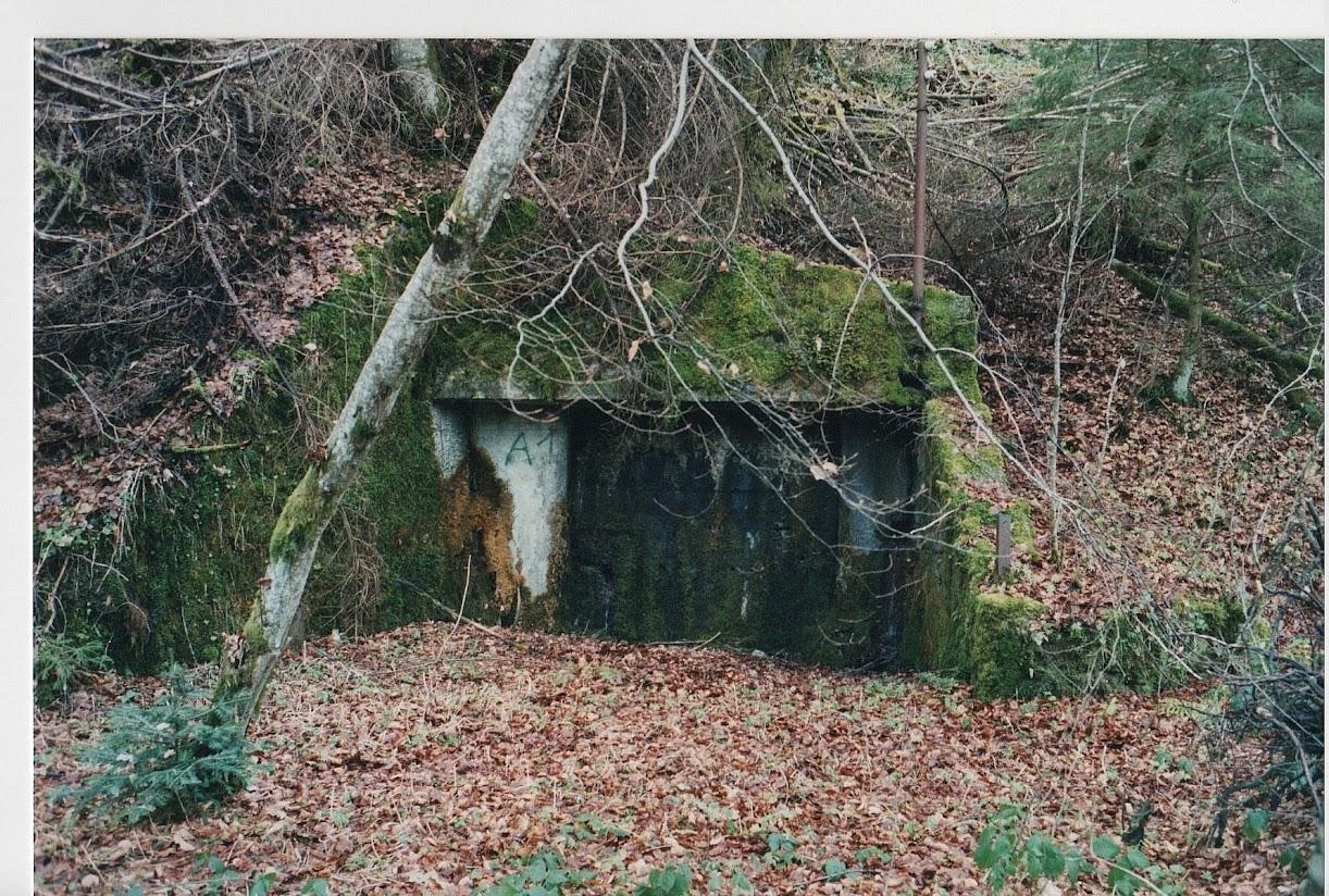 La mine de charbon St Mury Le Chenevrey