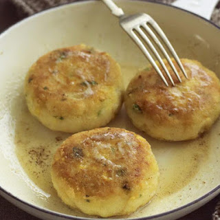 Creamed Corn and Potato Patties