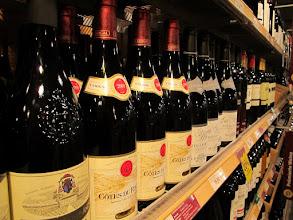 Photo: Die (Wein-)Auswahl ist endlos (Felix)