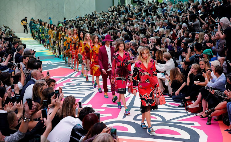 39f536dfd016 Cost-cutting helps profit soar more than 40% at Burberry in first half