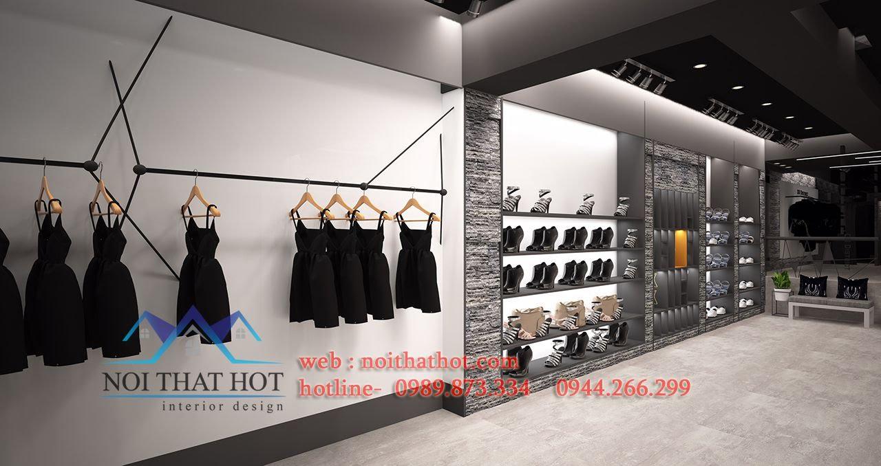 thiết kế shop thời trang phong cách lạ