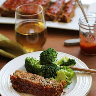 Thai Lentil Vegan Meatloaf with Marmalade Glaze.