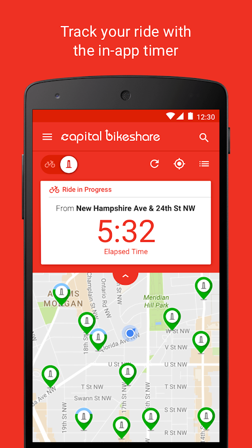 Capital Bikeshare- screenshot