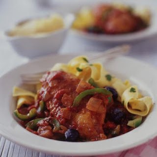 Neapolitan Style Chicken with Pasta