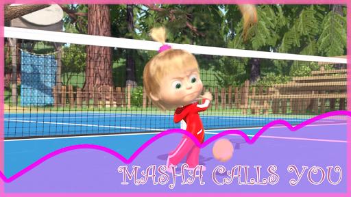 Masha: Summer - Tennis Game Time and Bears 1.0.0 screenshots 5