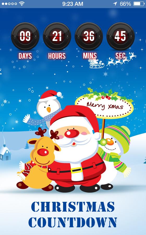 Countdown Christmas Christmas 2017