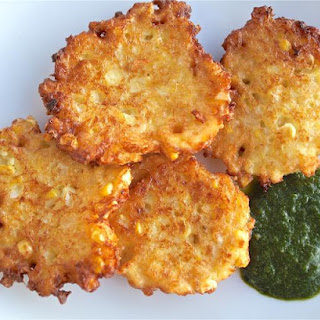 Perfectly Light and Sweet Corn Fritters