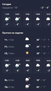 Погода 24 – Прогноз погоды на экране телефона 5