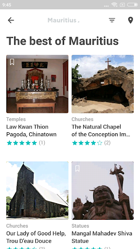 mauritius travel guide in english with map screenshot 3