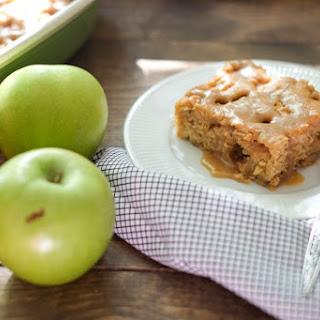 Healthier Caramel Apple Cake.