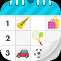 SHUBiDU- Best family calendar for modern families icon