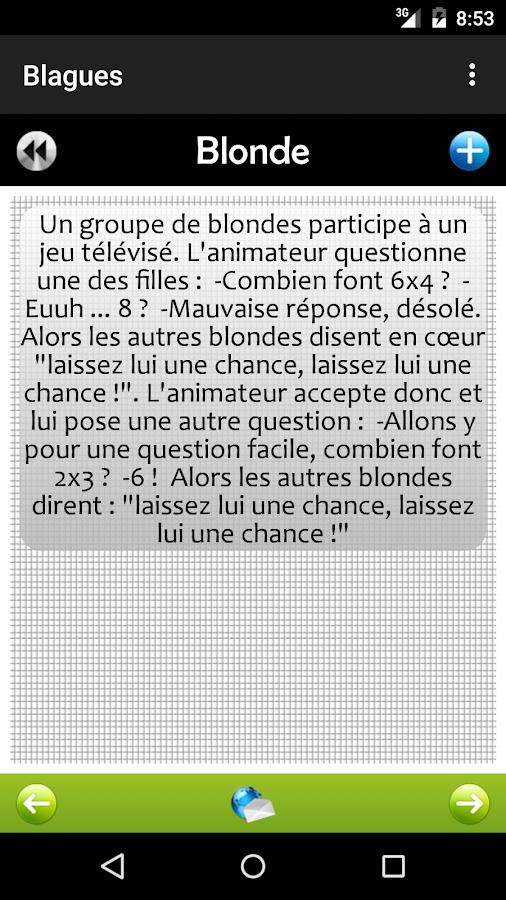 Blagues - French Jokes- screenshot