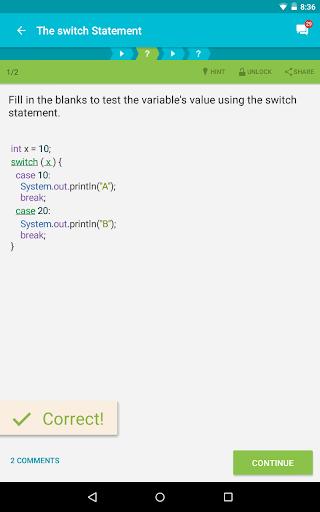 Learn Java 3.8.1 Screenshots 13