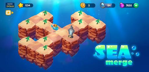 Sea Merge! Fish Aquarium MOD APK | Unlimited Gold