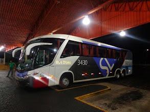 Photo: Busfahrt von Birigui nach Goiânia (Goiás)