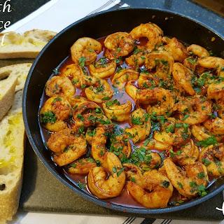 Shrimp with Garlic Sauce (Gambas Al Ajillo) Recipe