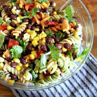 Easy Mexican Fiesta Pasta Salad Recipe