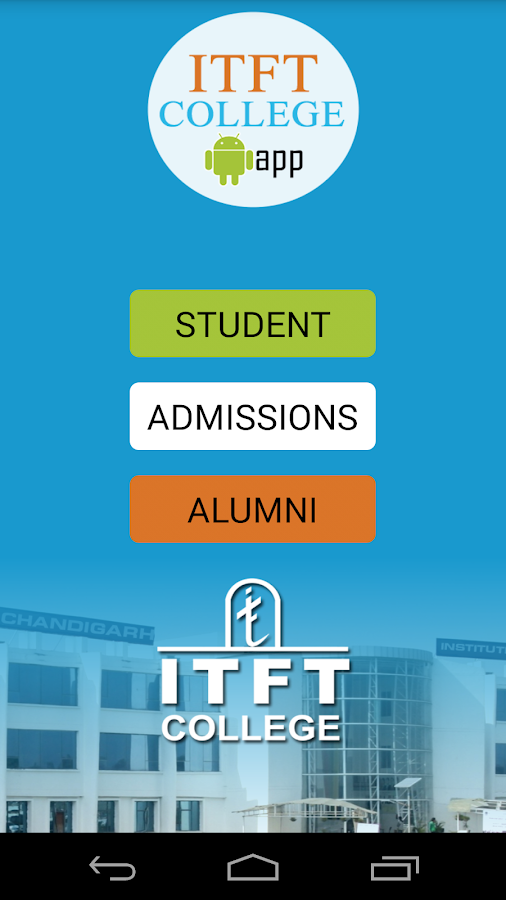ITFT College- screenshot