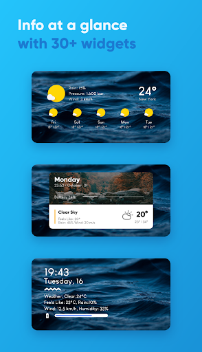 Overdrop - Animated Weather & Widgets Apk apps 3