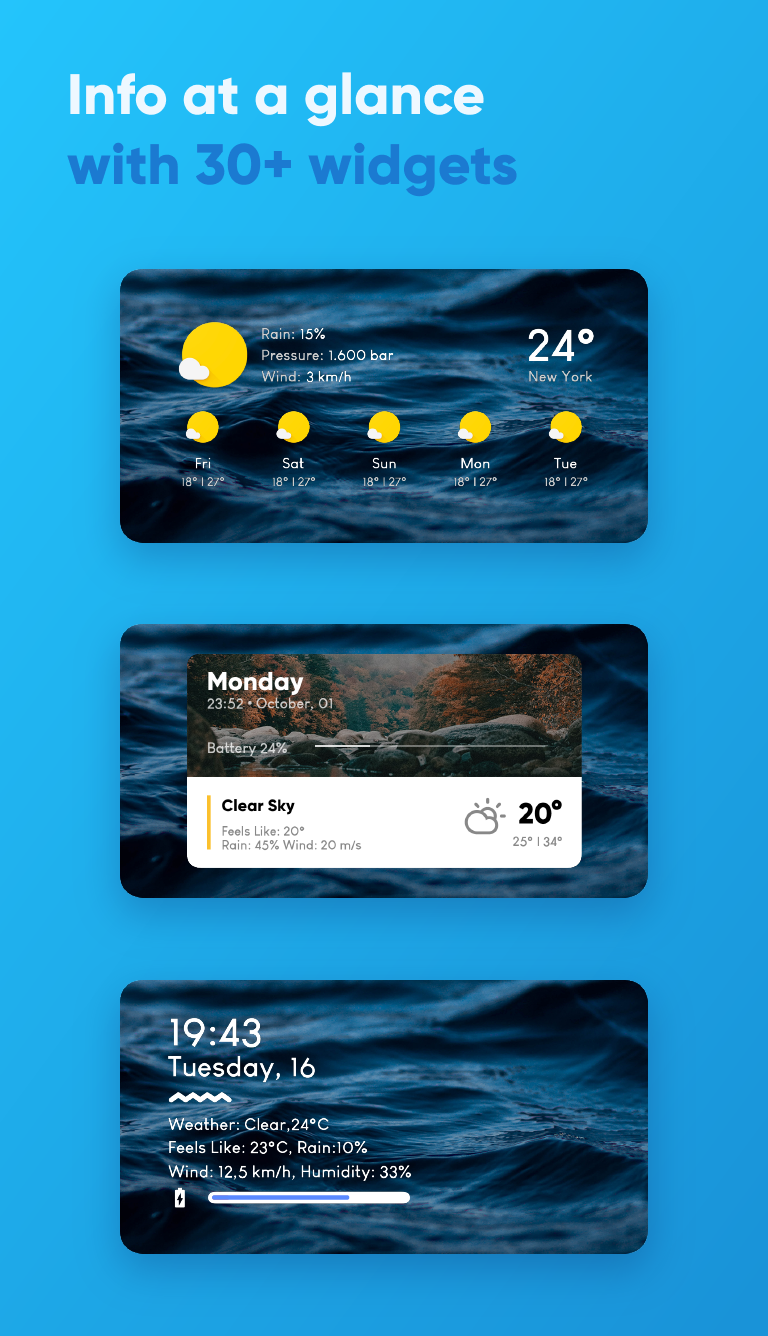 Overdrop Weather — Animated Forecast & Widgets v1.1.6 [Final] [Pro]