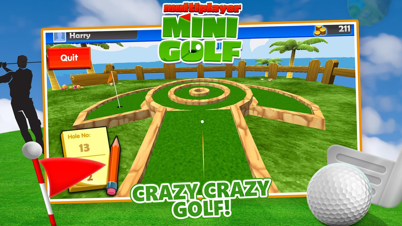 multiplayer minigolf