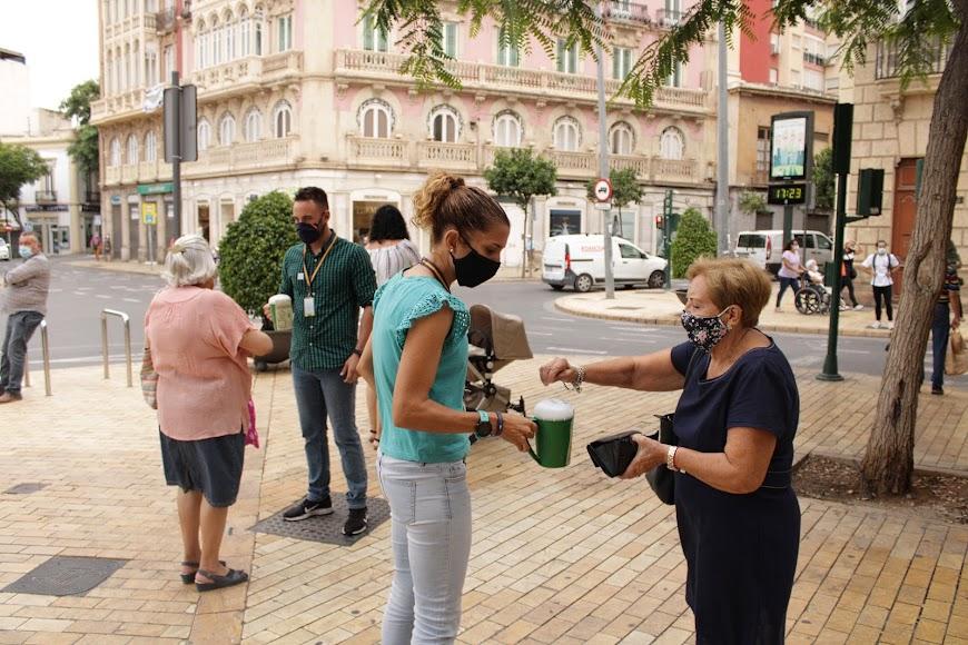 Cuestación del Día Contra el Cáncer en Almería