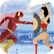 Amazon Wonder Warrior vs Flash Speed Hero