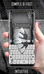 Keyboard Metal - náhled