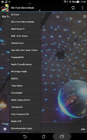 android Ultimate Disco Radio Screenshot 3