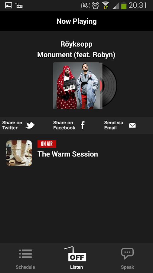 offradio.gr - στιγμιότυπο οθόνης