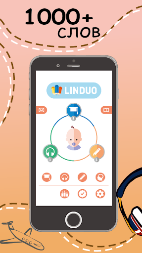 Language Learning Flashcards: ENGLISH LINDUO 3.19.2 screenshots 1